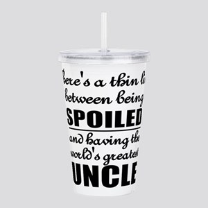 uncle Acrylic Double-wall Tumbler
