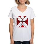 FABRICATOR Women's V-Neck T-Shirt