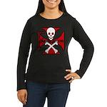 FABRICATOR Women's Long Sleeve Dark T-Shirt