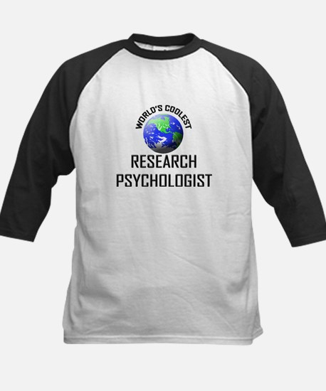 World's Coolest RESEARCH PSYCHOLOGIST Tee