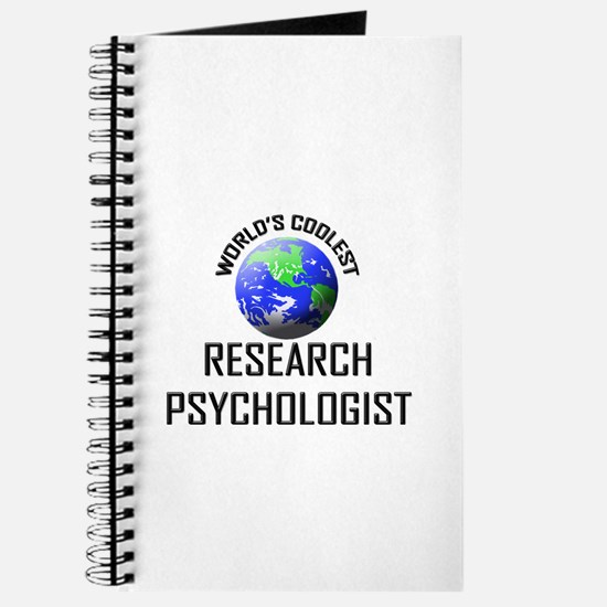 World's Coolest RESEARCH PSYCHOLOGIST Journal