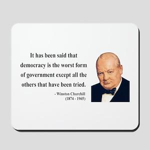 Winston Churchill 1 Mousepad