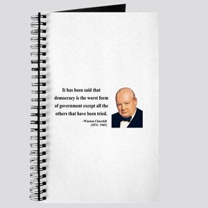 Winston Churchill 1 Journal