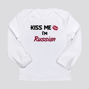 Kiss me I'm Russian Long Sleeve T-Shirt