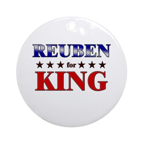 REUBEN for king Ornament (Round)