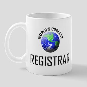 World's Coolest REGISTRAR Mug