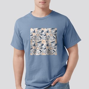 Floral Mens Comfort Colors Shirt