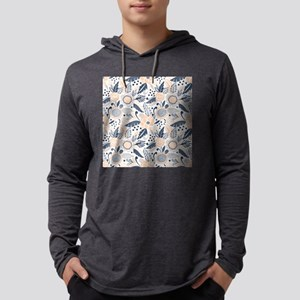 Floral Mens Hooded Shirt