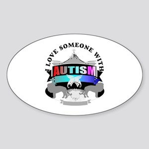 autism is someone i love Sticker