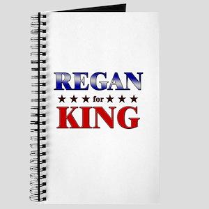 REGAN for king Journal