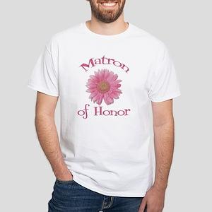 Daisy Matron of Honor White T-Shirt