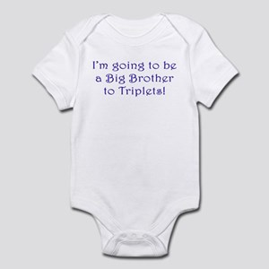 I'm going to be the Big Brother of Triplets! Infan