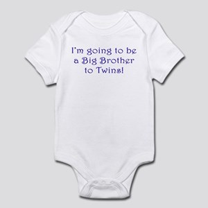 I'm going to be the Big Brother of Twins! Infant B