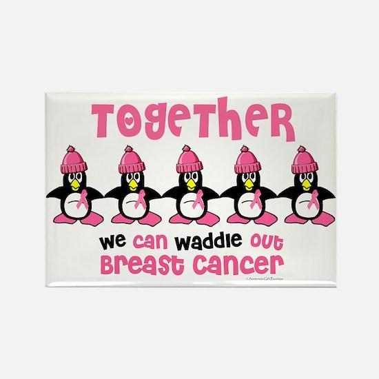 Winter Penguin 4 (BC) Rectangle Magnet (10 pack)