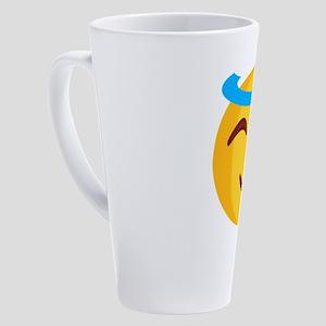 smileys avatar 17 oz Latte Mug