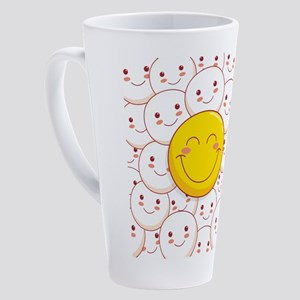 smile 17 oz Latte Mug