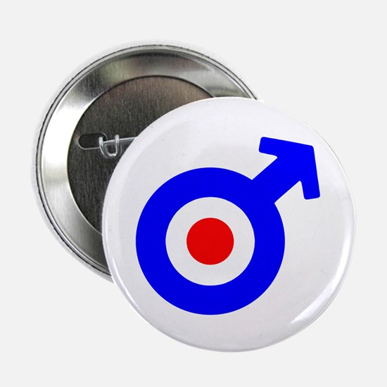 Mod Male Symbol Button