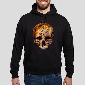 Skull covered with tree bark Sweatshirt
