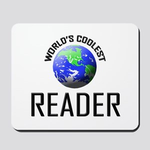 World's Coolest READER Mousepad