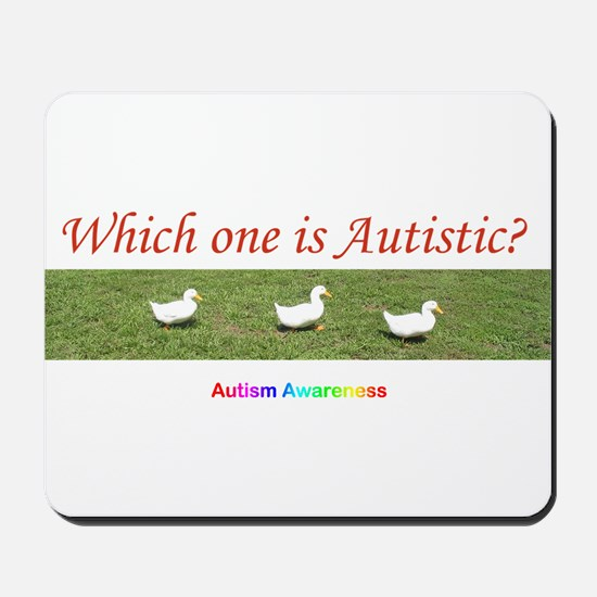 Which one is autistic? Mousepad