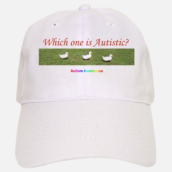 Which one is autistic? Baseball Baseball Cap
