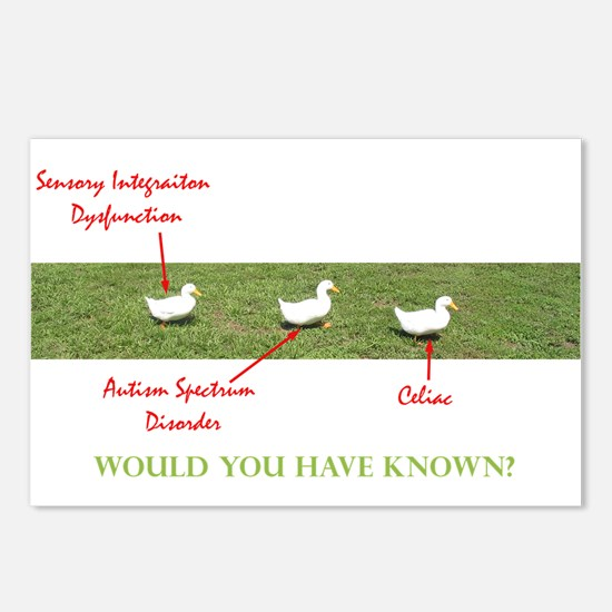 Disability Ducks Postcards (Package of 8)