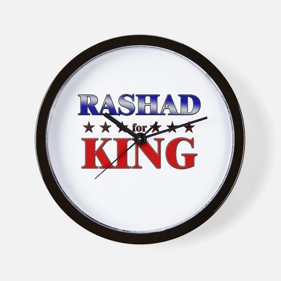 RASHAD for king Wall Clock