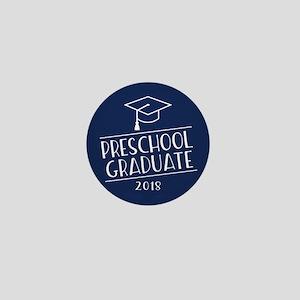 2018 Preschool Grad Mini Button