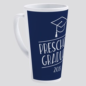 2018 Preschool Grad 17 oz Latte Mug