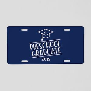 2018 Preschool Grad Aluminum License Plate