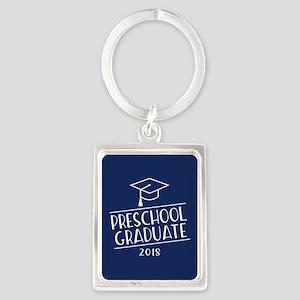 2018 Preschool Grad Portrait Keychain