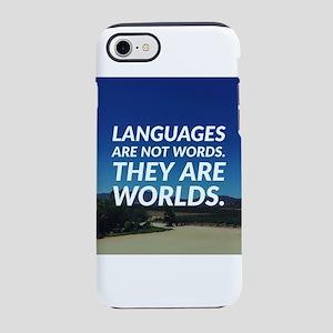 Languages World iPhone 8/7 Tough Case