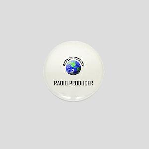 World's Coolest RADIO PRODUCER Mini Button