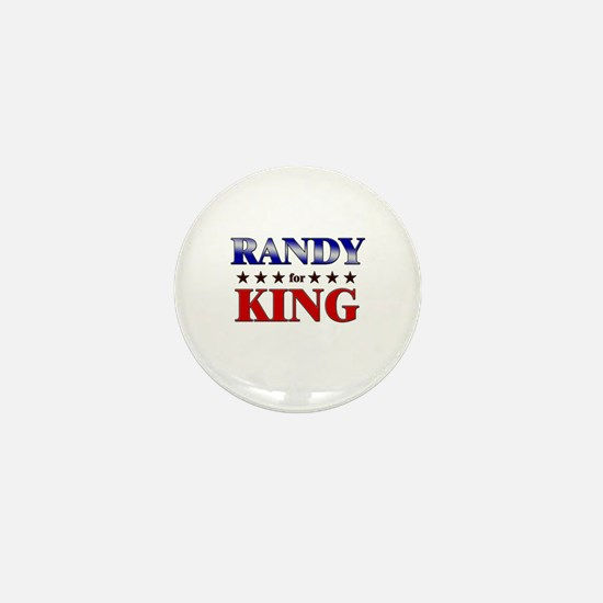 RANDY for king Mini Button