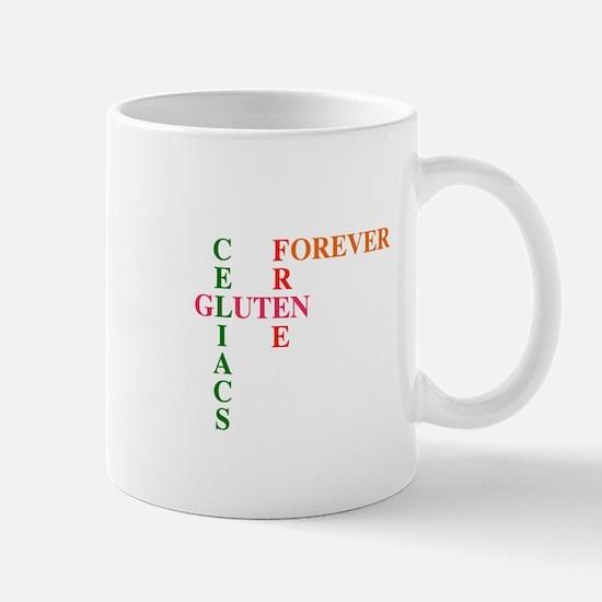 Celiacs Gluten Free Forever Mug