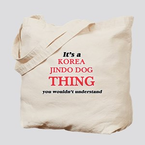 It's a Korea Jindo Dog thing, you wou Tote Bag