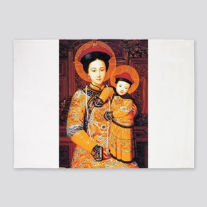 Our Lady of China Blessed Chinese S 5'x7'Area Rug