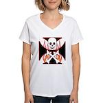 X Women's V-Neck T-Shirt