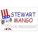 Stewart Mango Large Poster