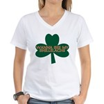 Wanna See My Shillelagh? Women's V-Neck T-Shirt