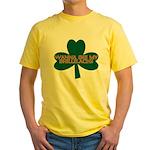 Wanna See My Shillelagh? Yellow T-Shirt