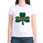 Wanna See My Shillelagh? Jr. Ringer T-Shirt
