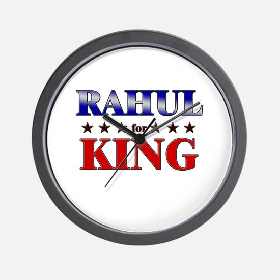 RAHUL for king Wall Clock