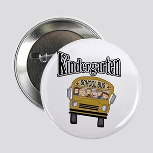 School Bus Kindergarten Button