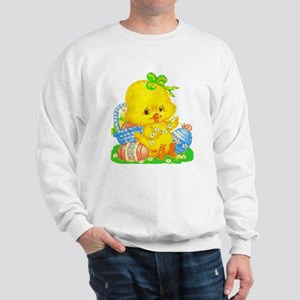 Vintage Cute Easter Duckling and Easter Egg Sweats