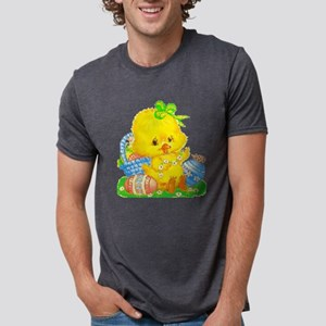 Vintage Cute Easter Duckling and Easter Egg T-Shir