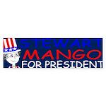 Stewart Mango Bumper Sticker