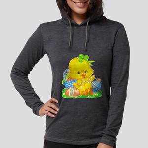 Vintage Cute Easter Duckling and Easter Egg Long S