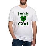 Irish Girl Fitted T-Shirt
