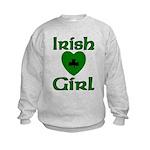 Irish Girl Kids Sweatshirt